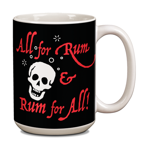 Pirate Rum Ceramic 15oz Mug  CG-001-038