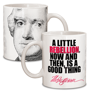 Thomas Jefferson Ceramic Mug CG-001-041