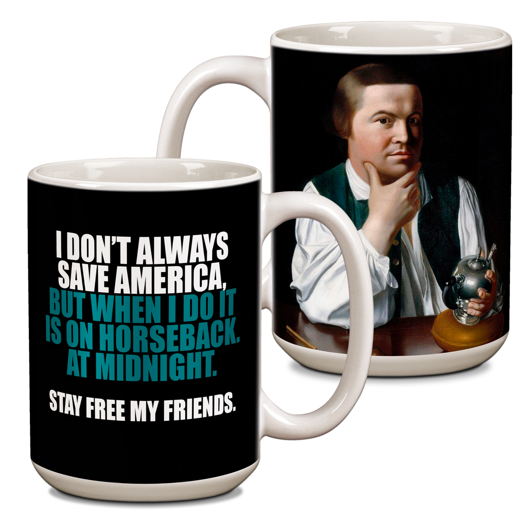 Paul Revere Ceramic 15oz Mug CG-001-043