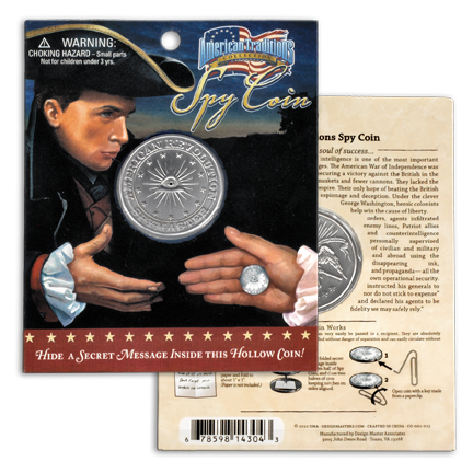 Revolutionary War Spy Coin