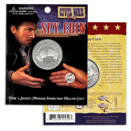 Civil War Spy Coin