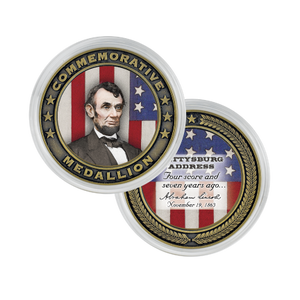 Gettysburg Address Commemorative Medallion