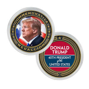 President Donald Trump Commemorative Medallion CO-001-028