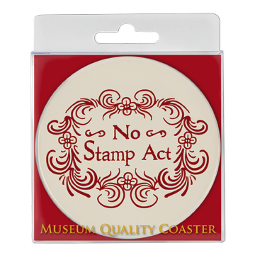 No Stamp Act Absorbent Coaster DA-001-014