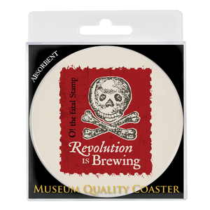 Revolution is Brewing Absorbent Coaster DA-001-017