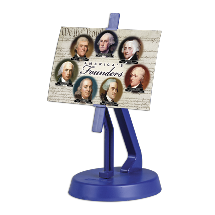 Rocking Lenticular Postcard Holder Display