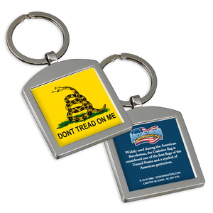 Don't Tread on Me Metal Keychain