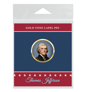 Thomas Jefferson Lapel Pin