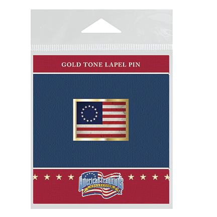 First American Flag Lapel Pin