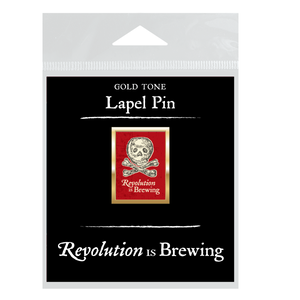Revolution is Brewing Lapel Pin  LP-001-014