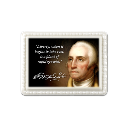 George Washington Porcelain Magnet