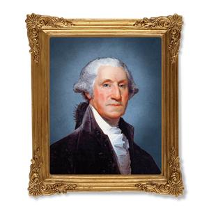 George Washington Resin Frame Magnet