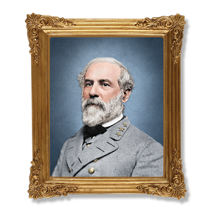 Robert E. Lee Resin Framed Magnet MG-001-094