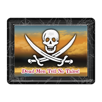 Dead Men Tell No Lies PVC Magnet MG-001-099