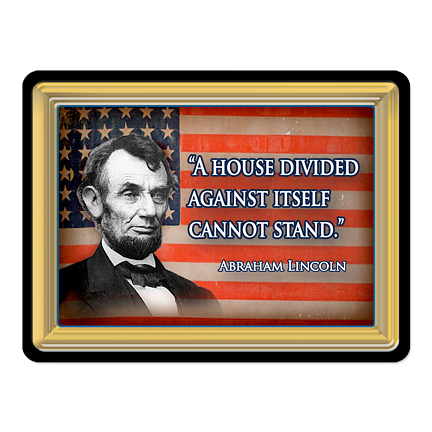 Abraham Lincoln Quote PVC Magnet