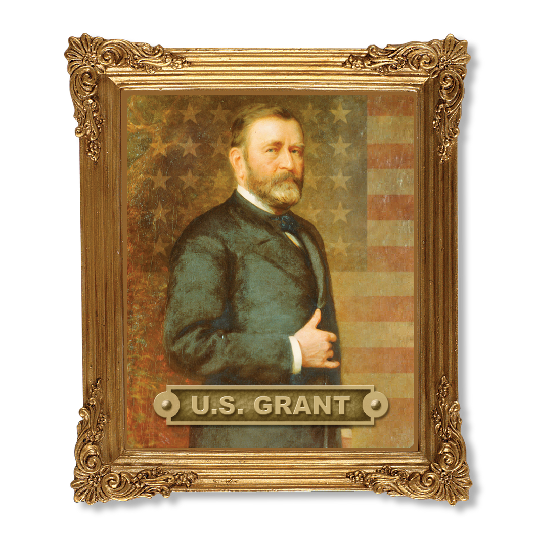 Grant 150th Anniverary Resin Frame Magnet  MG-001-112