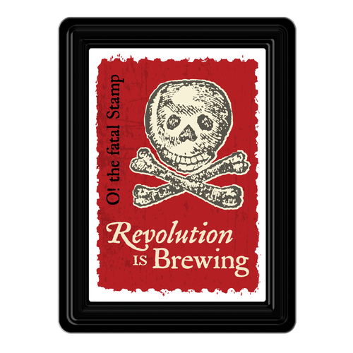 Revolution is Brewing PVC Magnet  MG-001-114