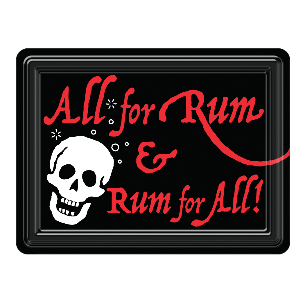 Rum Pirate PVC Magnet  MG-001-115