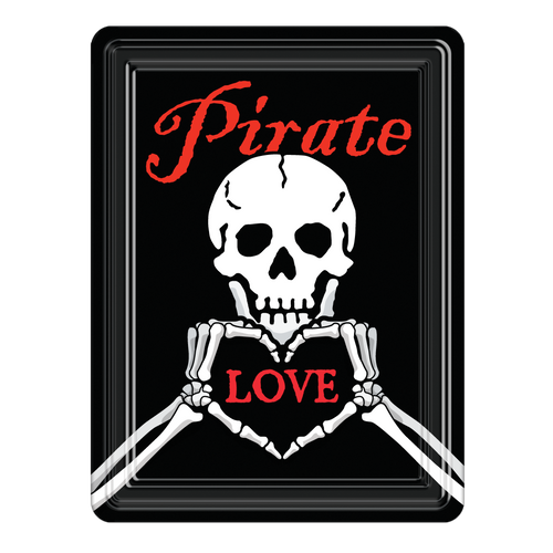 Pirate Love PVC Magnet  MG-001-116
