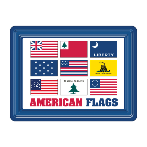 American Flags PVC Magnet MG-001-120
