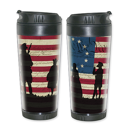We the People Silhouette Travel Mug