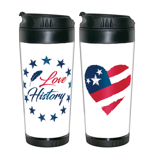 I Love History! Travel Mug  MO-001-009
