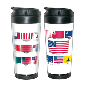 American Flags Travel Mug  MO-001-012