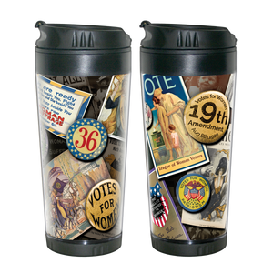 Women's Vote Anniversary Travel Mug  MO-001-013