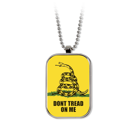 Don't Tread on Me Dog Tag