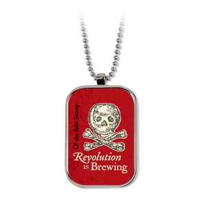 Revolution is Brewing Dog Tag  NK-001-012