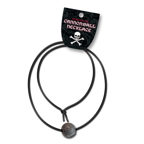 Pirate Cannonball Necklace NK-001-013