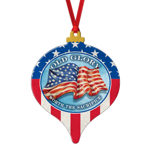 Proud to Be an American Ornament OM-001-005