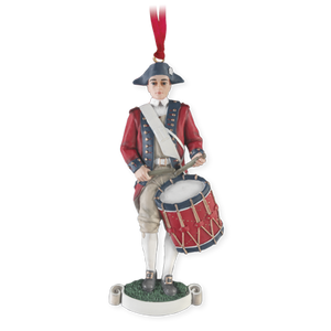 Colonial Drummer Ornament