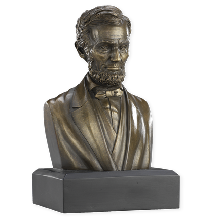 6 Inch Abraham Lincoln Bust (Bronze)