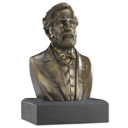 6 Inch Robert E. Lee Bust (Bronze)