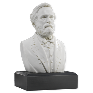 6 Inch Robert E. Lee Bust (White)