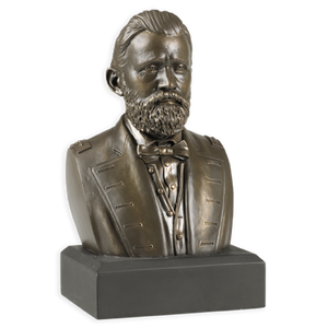 6 Inch Ulysses S. Grant Bust (Bronze)