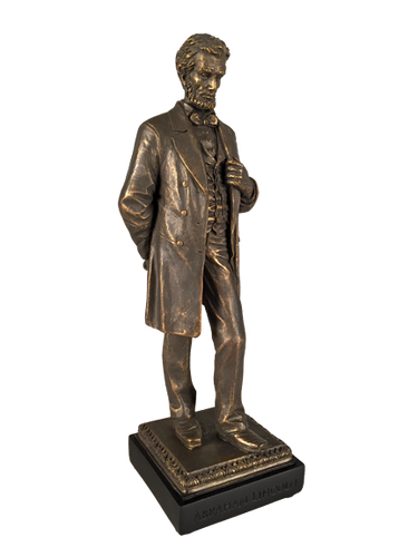 Abraham Lincoln Standing Sculpture