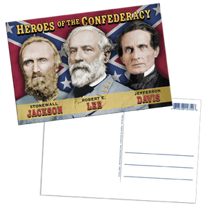 Heroes of the Confederacy Lenticular Postcard