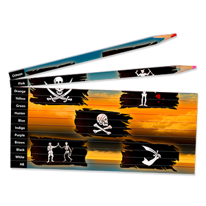 Pirate Pencil Set SN-001-087