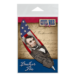 Emancipation Proclamation Leather Quill Pen