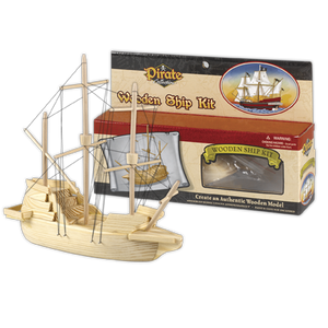 Pirate Wooden Ship Kit