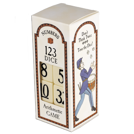 Arithmetic Dice Game, Civil War  TY-001-095