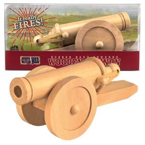 Civil War Wood Cannon