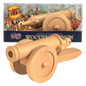 American Revolution Wood Cannon