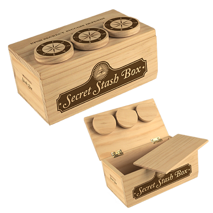 American Revolution Secret Stash Box