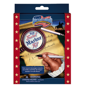 Revolutionary War Secret Marker Kit