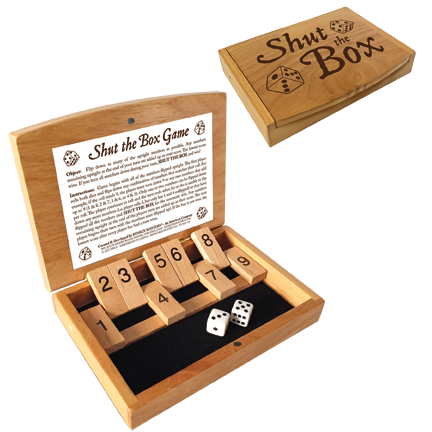 Mini Shut the Box Game