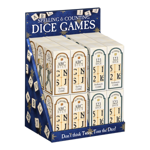 Arithmetic and Spelling Dice Games with Free Display  TY-001-132