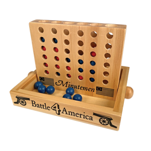 Wooden Connect 4 Game TY-001-147
